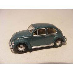 Volkswagen Kever 1:72 Cararama zeegroen - vw beetle hongwell