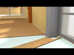 Klick Laminat verlegen - Laminatboden Verlegeanleitung - YouTube Bauhaus, Inspire, Create, Youtube, Diy, Inspiration, Home, Design, Decor