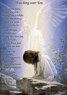 Guardian Angel Poem Watching Over | Watching Over You.