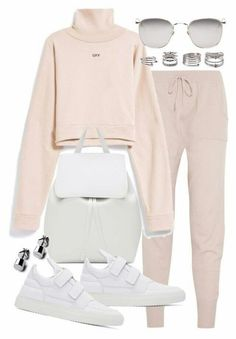 Eres, Mansur Gavriel, Filling Pieces, Forever 21 and Linda Farrow Cute Casual Outfits, Sporty Outfits, Swag Outfits, Korean Outfits, Stylish Outfits, Teen Fashion Outfits, Look Fashion, Outfits For Teens, Korean Fashion
