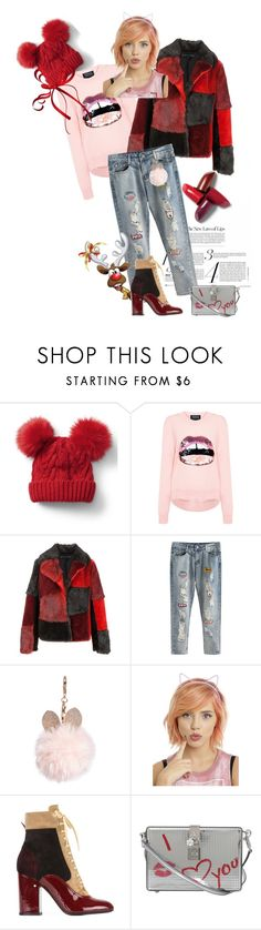 """Hi, New Year!!!"" by bel-ochka ❤ liked on Polyvore featuring Gap, Markus Lupfer, Jocelyn, GUESS, Hot Topic, Laurence Dacade and Dolce&Gabbana"