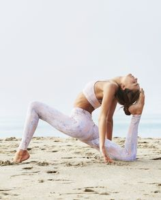 heart open low lunge #yoga