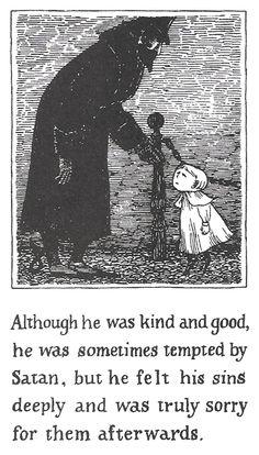 The Pious Infant, E. Gorey