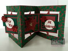 The 55 best card making accordion images on pinterest folded melanie jess diesire christmas accordion samples square accordion card ivy square overlay m4hsunfo