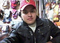 Victim: Oscar Otero Aguilar, pictured, died while taking a gun selfie