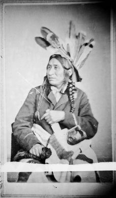 Sacred Hawk (aka His People Are Red), son of Little Crow - Mdewakanton - 1869    Read more: http://amertribes.proboards.com/index.cgi?board=santee=display=519#ixzz2A47Ouh3B