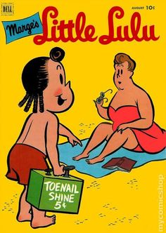 Little Lulu #50  Published August 1952 by Dell/Gold Key.