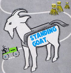 Goats, they're not just for cute memes! Make some paper goats with your kids.      #FLVS #Paper