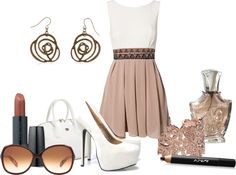 """Nude"" by gemdawg on Polyvore"