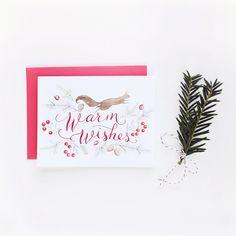 Warm Wishes Notecard Set - Julianna Swaney