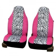 Cool Cars accessories 2017: Pink Zebra Car Seat - Who said car interiors had to be boring? #CompassMotors...  Car Accessories Check more at http://autoboard.pro/2017/2017/08/28/cars-accessories-2017-pink-zebra-car-seat-who-said-car-interiors-had-to-be-boring-compassmotors-car-accessories/