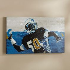 Touchdown Canvas Wall Art