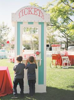 """""""Punch cards were given to guests with their entry fee to use at some of the many booths. They were able to choose from among food, face painting, the photobooth, the bakery, the jump house etc."""""""