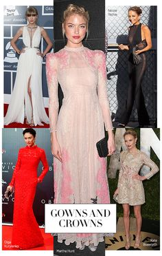 BAZAAR Boards: Gowns and Crowns