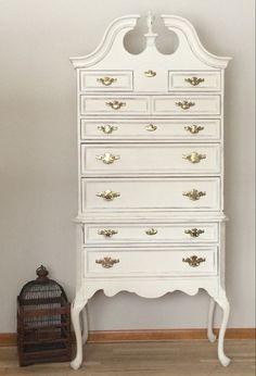 Queen Ann Highboy Dresser