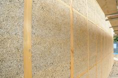 Curious one by civilengineeringworld #homedesign #contratahotel (o) http://ift.tt/21if4Lr a mixture ofhemphurds (shives) andlime used as a material for construction andinsulation. It lacks thebrittlenessof concrete and consequently does not needexpansion joints. It has excellent earthquake resistance.  The typicalcompressive strengthis around 1MPa around 1/20 that of residential grade concrete. Hempcrete walls must be used together with a frame of another material that supports the vertical…