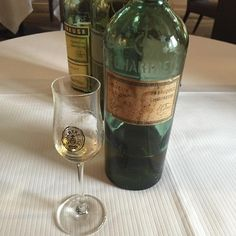 Et en dessert chartreuse jaune 1878... via https://www.instagram.com/guillaume_gomez_/