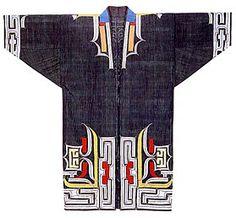 "Pattern of cotton kimono ""Ruunpe"""