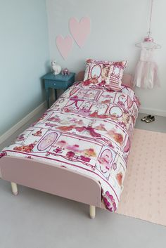 Dekbedovertrek Beddinghouse KIDS Princess Wardrobe - NIEUWE COLLECTIE   Duvet cover Beddinghouse   http://www.livengo.nl/beddengoed/dekbedovertrekken   #overtrekken #prinses #slaapkamer #livengo