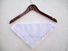 4 Piece Lace Cloth Napkins by colorfuldesings on Etsy, $24.00