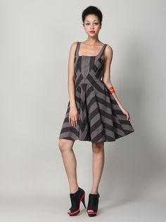 Marc by Marc Jacobs  Jailbird Stripe Dress