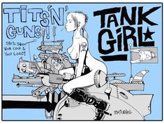 WEEDnesday::: Tank Girl