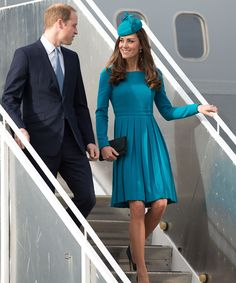 How to Travel *Just* Like Prince William and Kate Middleton from InStyle.com