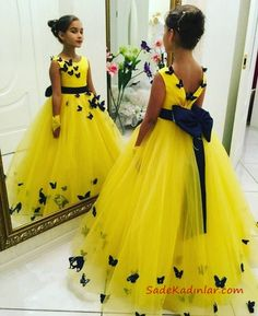 Baby Girl Dresses Diy, Girls Fancy Dresses, Fancy Wedding Dresses, Baby Girl Dress Patterns, Gowns For Girls, Frocks For Girls, Pretty Dresses, Baby Dress, Girl Outfits