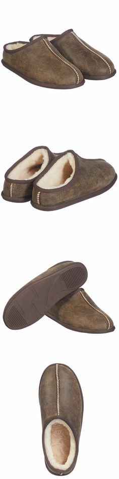 f820fb294 Slippers 11505: Kirkland Signature Men S Shearling Clog Slipper Brown  (Select Size) -> BUY IT NOW ONLY: $29.99 on #eBay #slippers #kirkland # signature ...