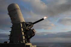 The Phalanx CIWS is an anti-ship missile defense system. It is a close-in weapon system (CIWS) and was designed and manufactured by the General Dynamics Corporation, Pomona Division[4] (now a part of Raytheon). Consisting of a radar-guided 20mm Gatling gun mounted on a swiveling base, the Phalanx is used by the United States Navy on every class of surface combat ship, by the United States Coast Guard aboard its Hamilton-class and Legend class cutters and the navies of 23 allied nations.
