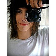 The Awesome Emo Guys Hairstyles Cute Scene Boys, Cute Emo Guys, Hot Emo Boys, Scene Guys, Emo Girls, Cute Boys, Hot Guys, Tragus, Septum Piercings