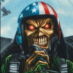 Eddie Heavy Metal Bands, Iron Maiden Mascot, Iron Maiden Posters, Eddie The Head, Iron Maiden Band, Where Eagles Dare, Extreme Metal, Metal Albums, Horror Show