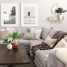 Living Room Ideas: A Modern Coffee Table f/ Your French Pressed Coffee