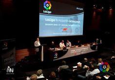 """Javier Tebas (LaLiga): """"Estamos trabajando para tener el mejor producto…"""