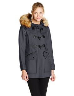 Marc New York by Andrew Marc Women's Cara Wool-Blend Toggle Coat >>> Check this awesome product by going to the link at the image.