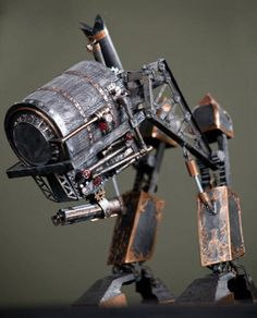 Dieses Steampunk War Machine Papiermodell ist der Beitrag