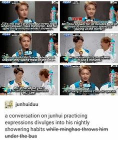 Minghao is in no place to save your ass Jun