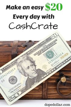 Learn how to make money with CashCrate by reading this CashCrate review. You'll learn if CashCrate is legit and If you can actually earn cash with them.