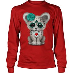 My Baby Blue day of the dead sugar skull white lion cub #gift #ideas #Popular #Everything #Videos #Shop #Animals #pets #Architecture #Art #Cars #motorcycles #Celebrities #DIY #crafts #Design #Education #Entertainment #Food #drink #Gardening #Geek #Hair #beauty #Health #fitness #History #Holidays #events #Home decor #Humor #Illustrations #posters #Kids #parenting #Men #Outdoors #Photography #Products #Quotes #Science #nature #Sports #Tattoos #Technology #Travel #Weddings #Women