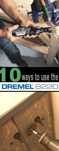 10 ways to use the Dremel Rotary Tool via @Remodelaholic .com
