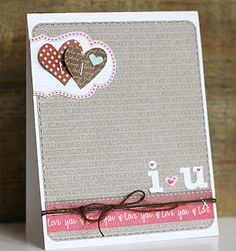 *One Scrappin' Mama: cards. Jillibean Soup