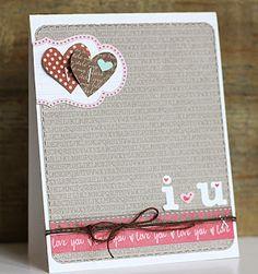 *One Scrappin' Mama: cards. Jillibean Soup