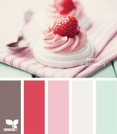 Yum these cute colours are so nice and pretty to have in a home and I just love the light colours
