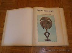 """LIBRO: """"ARTE DEL AFRICA NEGRA"""" - ALBERTO COSTA ROMERO DE TEJADA"""