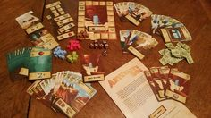 Artifacts, Inc. | Image | BoardGameGeek- This game plays great as a two player and multi-player.  Plays about an hour, which seems a perfect fit. Many good choices to make, opportunities to block out opponents from points grab, interactive without being attack-y.