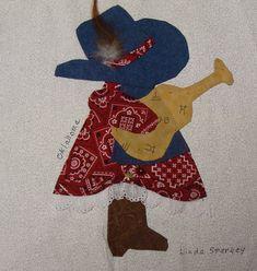 Sun bonnet sue quilt patterns free | ... Fifty Quilters of America Sunbonnet Sue 50 State Quilt Block Swap
