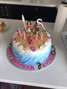 Moana beach birthday