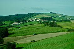 Countryside near Tarare, France