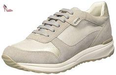 Geox D4462A021NF Sneakers Femme Daim Gris 39 HsTjKUPcAX