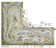 5x10 Ho layout - from Track Plan Database | ModelRailroader.com